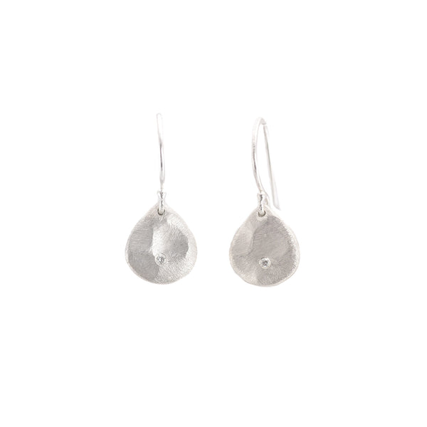 NEW! Mini Diamond Scale Earrings by Sarah Swell