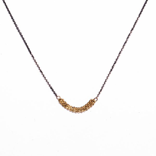 NEW! Slinky Short Chains Necklace Carla Caruso