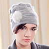 Classic Pom Hat (multiple colors) by Olena Zylak - Fire Opal - 1