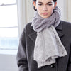 SALE! Beaupre Scarf (in multiple colors) by Olena Zylak - Fire Opal - 1