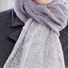 SALE! Beaupre Scarf (in multiple colors) by Olena Zylak - Fire Opal - 3