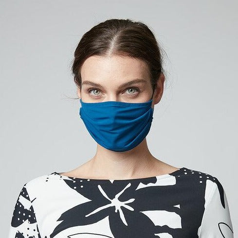 NEW! Porto Mask in Peacock Jet Jersey