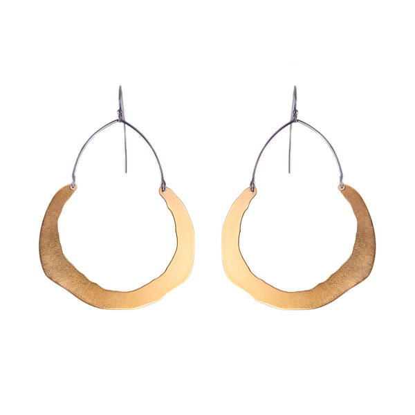 NEW! RC Swing Half Hoop Earrings by Lisa Crowder