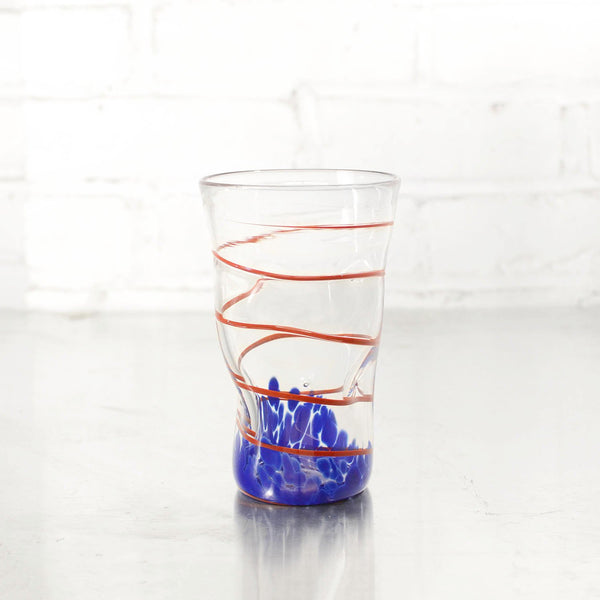 NEW! Wavie Ware Tumblers in Multiple Colors by Peàn Doubulyu Glass