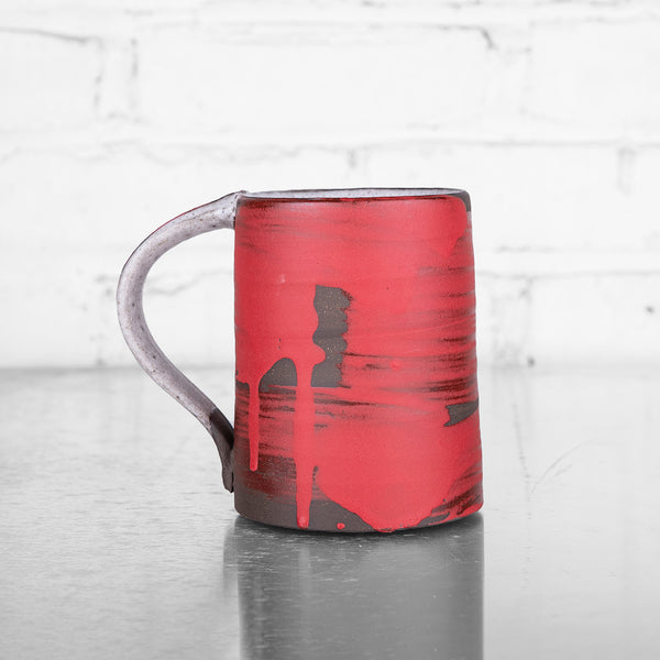 Red Mugs by Sang Joon Park