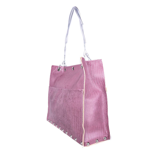 NEW! Riley Bag in Purple Snake by Hardwear by Renee