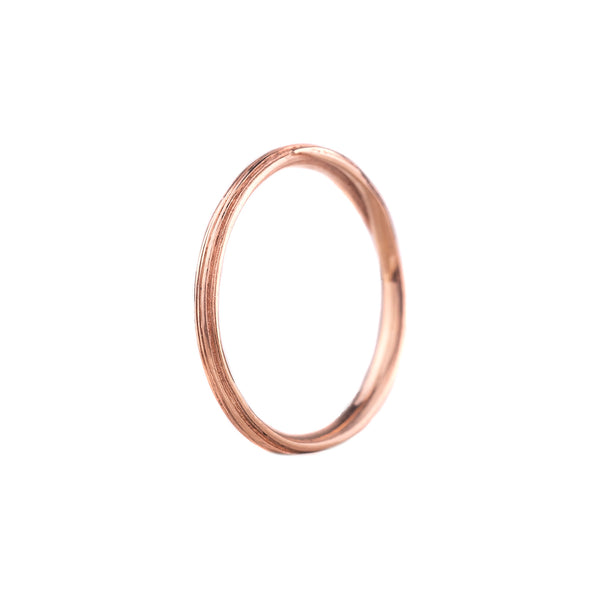 NEW! Narrow Entwined Ring in 14k Rose Gold by Liz Oppenheim Jewelry