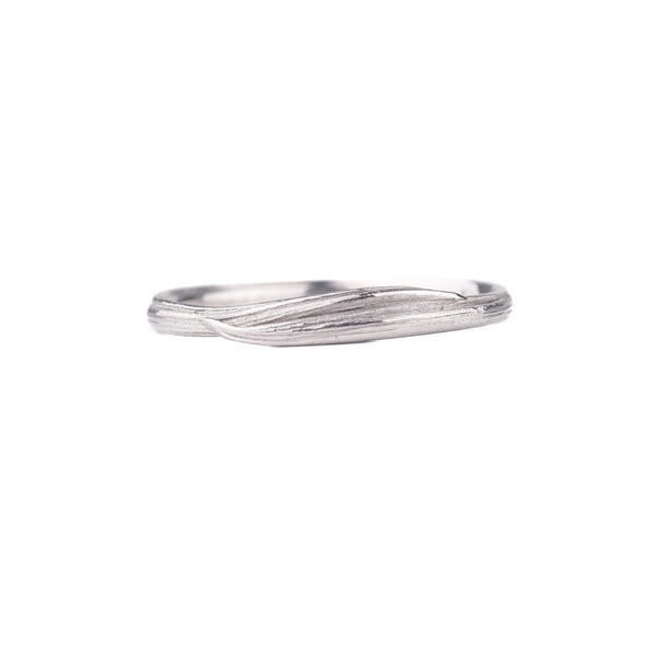 NEW! Narrow Entwined Ring in 14k White Gold by Liz Oppenheim Jewelry