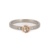 Champagne Rose Cut Ring by EC Design