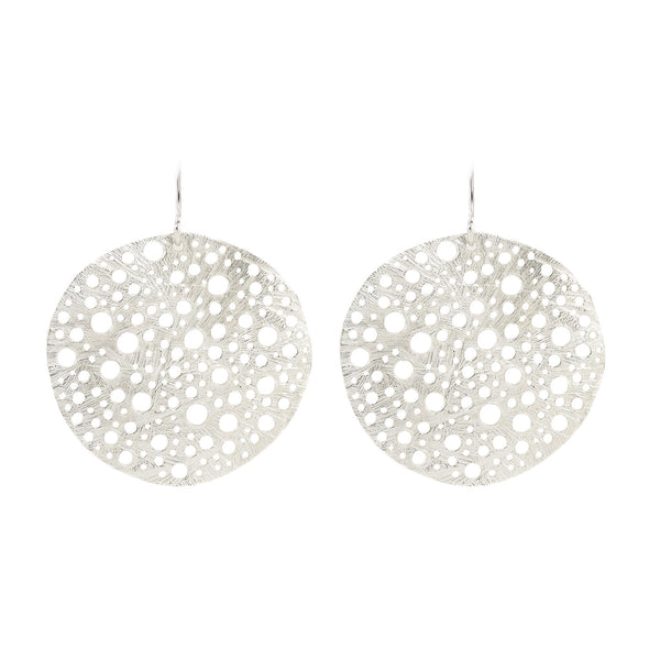 NEW! Siv Circle Earrings by Dahlia Kanner