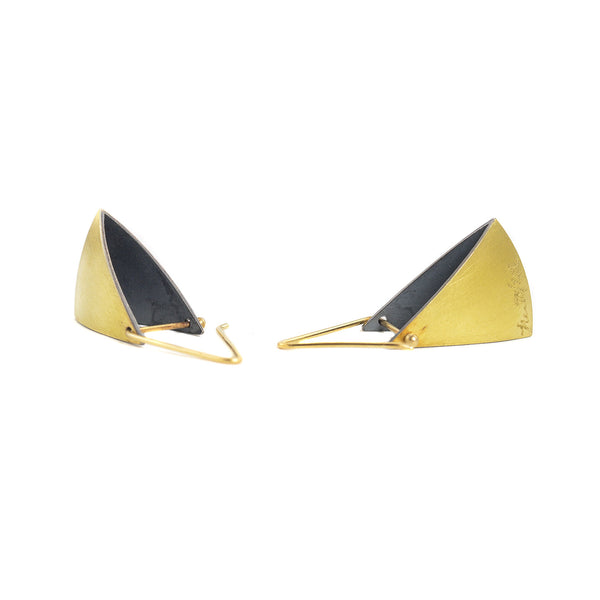 NEW! Spinnaker Earrings in Bi-Metal by Thea Izzi
