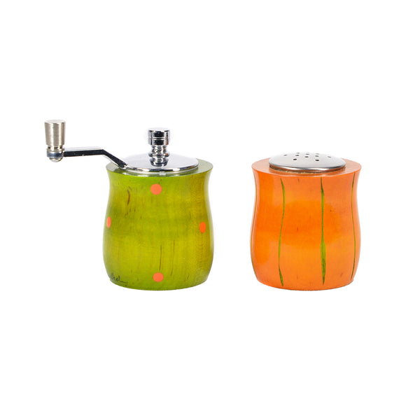 NEW! Orange and Lime Mini Salt & Pepper Set by Raw Design