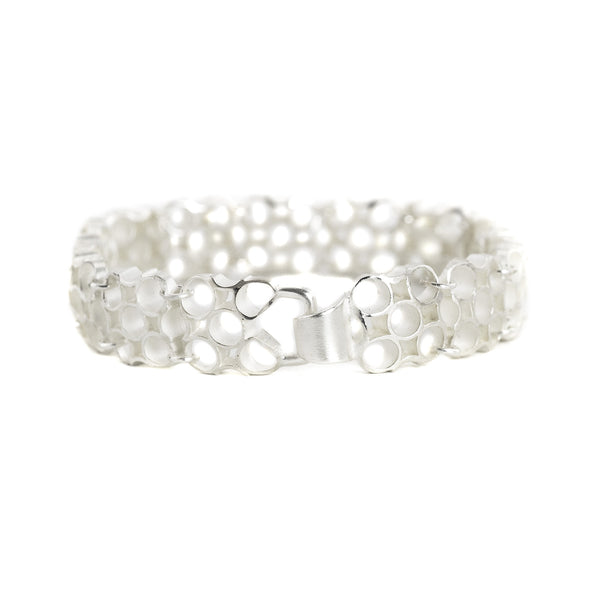 "NEW! Chex Bracelet ""5"" in Sterling Silver by Thea Izzi"