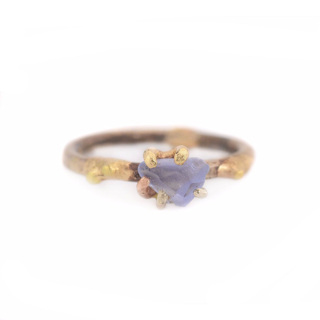 Sapphire Gold Ring by Variance
