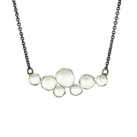Medium Cloud Necklace by Sarah Richardson - Fire Opal