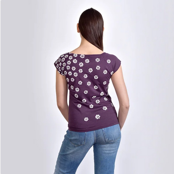 NEW! Purple Meadow T-Shirt by Umsteigen