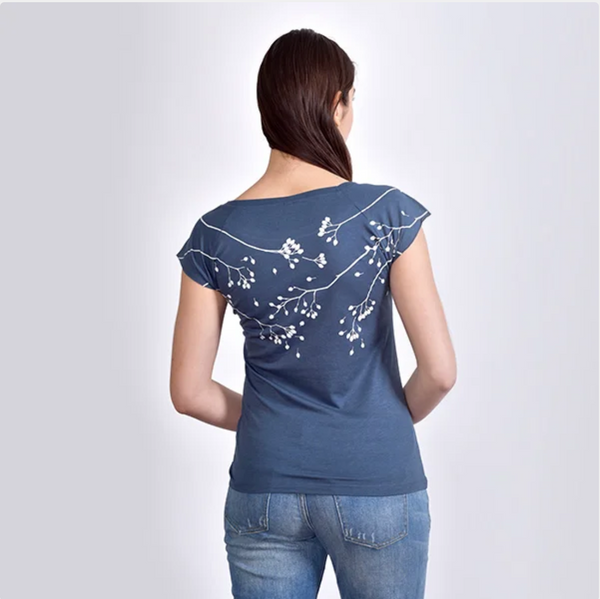 NEW! Denim Sparrow T-Shirt by Umsteigen