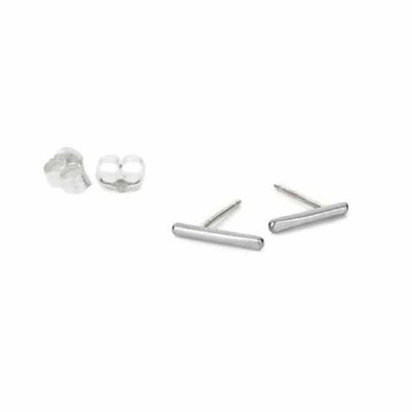 NEW! Sterling Silver Stria Stud Earrings by Colleen Mauer Designs