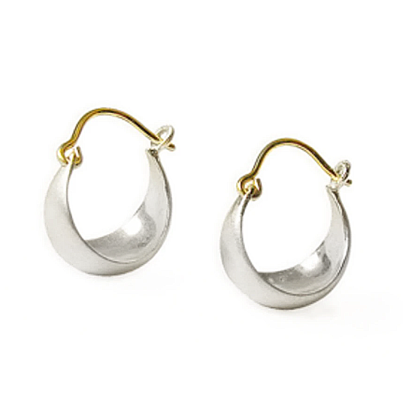 NEW! Small Half Moon Earrings by Carla Caruso