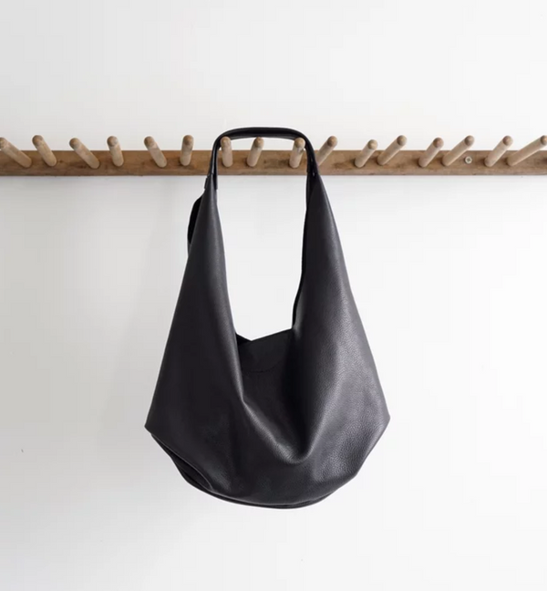 NEW! Medium Slouch Bag in Espresso by Stitch & Tickle
