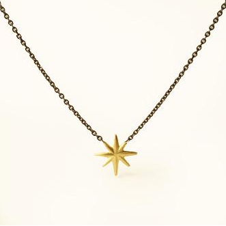 Suspended Twinkle Necklace by Carla Caruso