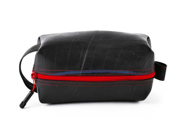 Elliot Dopp Large Travel Kit in Red by Alchemy Goods
