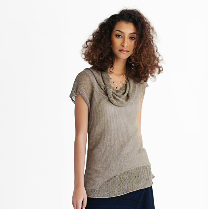 SALE! Marelle Top in Green Tea/Lavender by Pico Vela