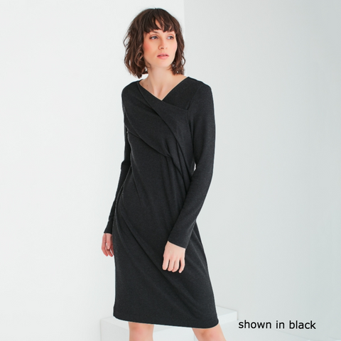 NEW! Grace Dress in Forest (shown in Black) by Veronique