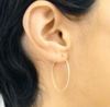 NEW! Small Oval Dainty Hoop Earrings by Carla Caruso