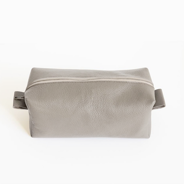 c5b48c0eb264 NEW! Small Dopp Kit in Light Grey by Stitch   Tickle