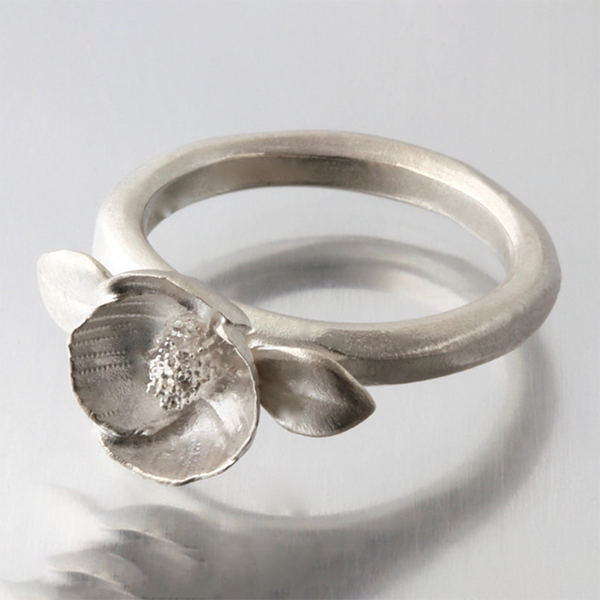 NEW! Small Poppy Ring by EAM