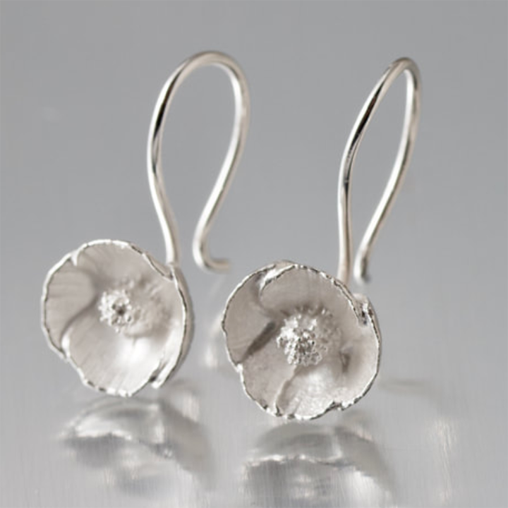 Mini Poppy Earrings by EAM