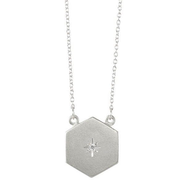 NEW! Starry Sky Hex Necklace by Sarah Swell
