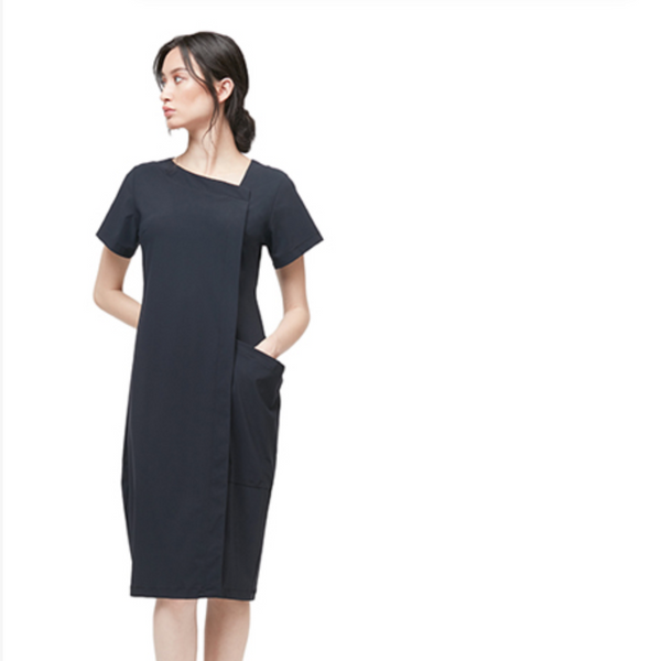 NEW! Scala Dress in Black by Porto