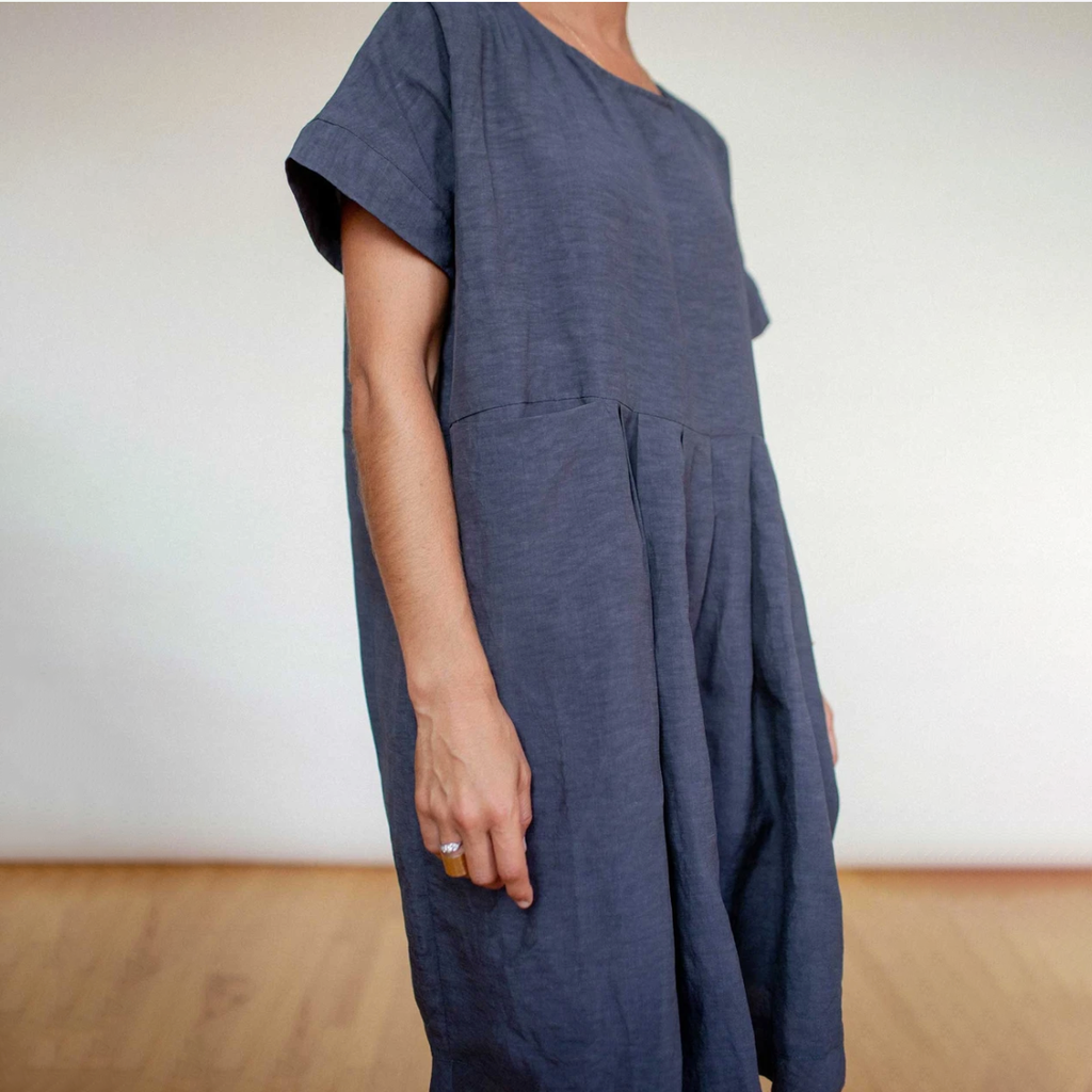 SALE! Caftan Dress in Charcoal by Shosh