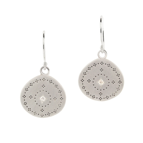 NEW! Nostalgia Earrings with Diamond by Adel Chefridi