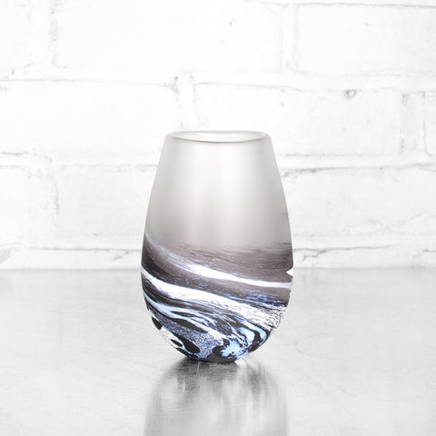 NEW! Small Seaspray Bud Vase in Multiple Colors by Teign Valley Glass