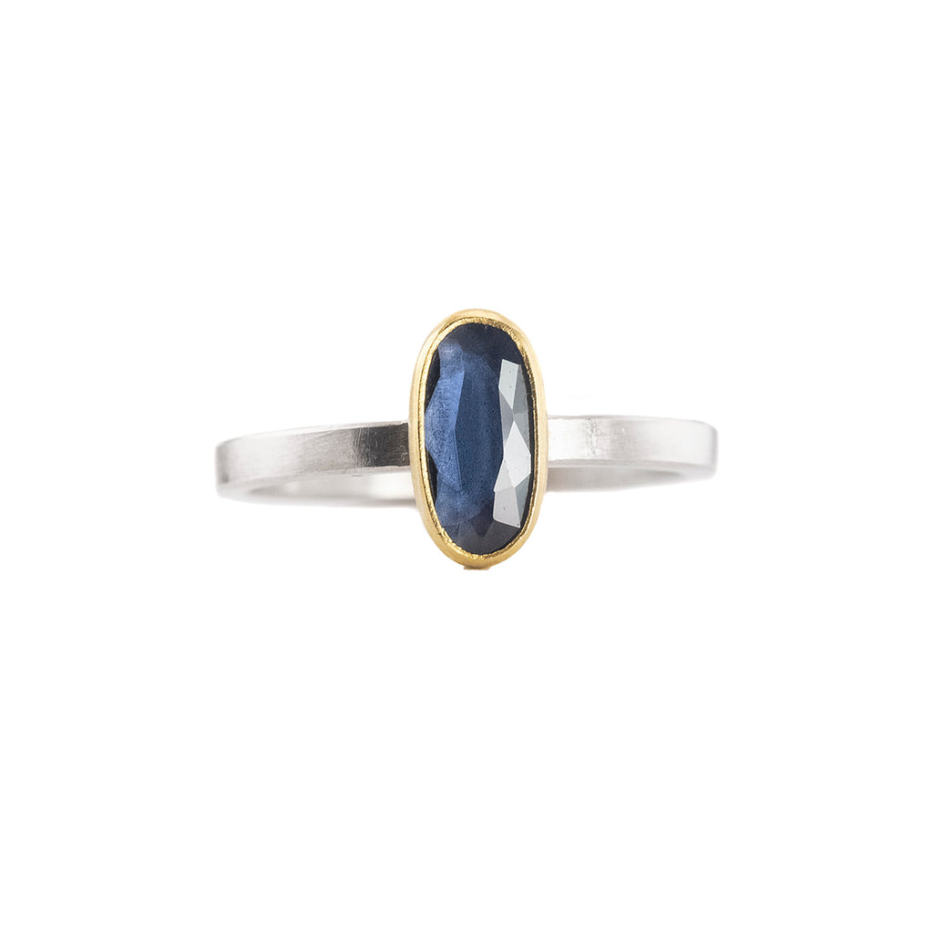 NEW! Spinel Oval Ring by Sam Woehrmann