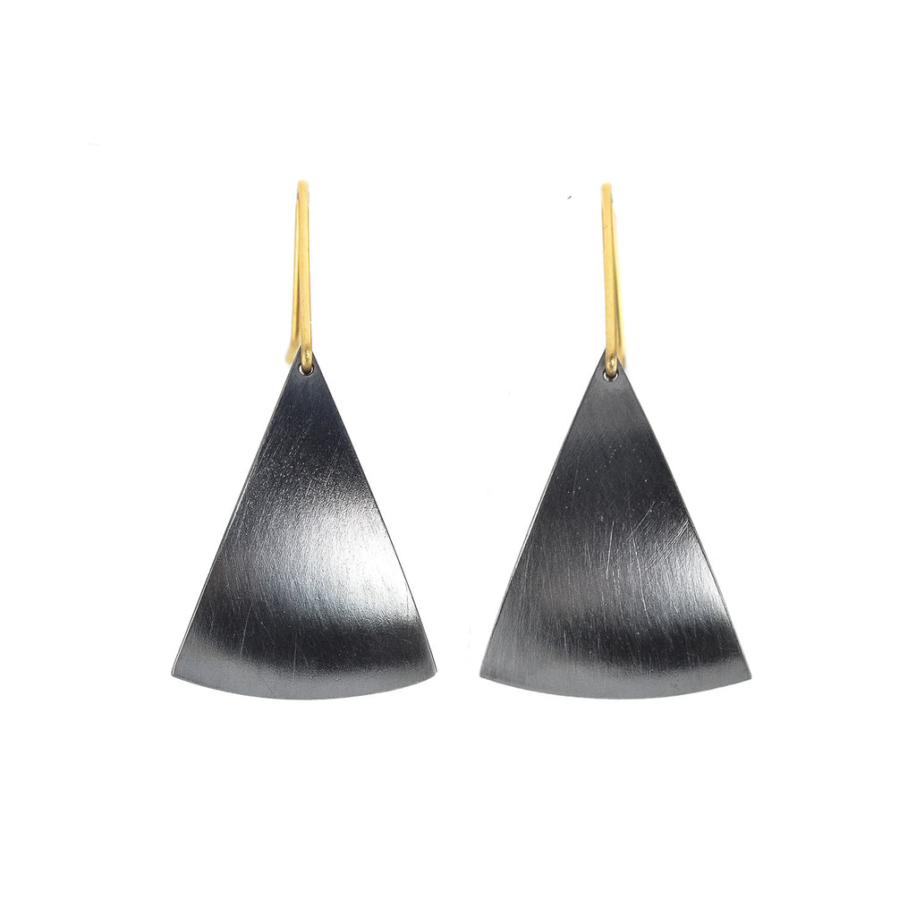 NEW! Spinnaker Earrings in Oxidized Silver by Thea Izzi