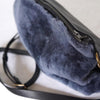 Marias Shearling Clutch & Muff by Stitch & Tickle - Fire Opal - 3
