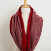 Cafe Cowl in Cayenne/Pewter by Swans Island - Fire Opal - 2