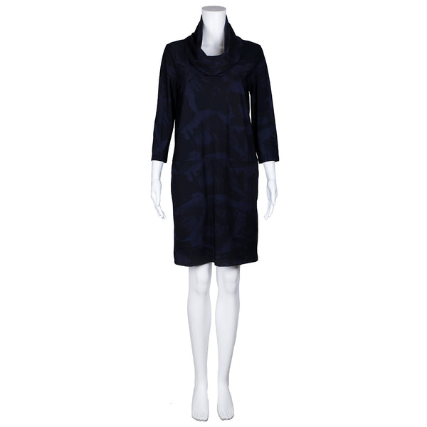 SALE! Viking Dress in Midnight Shodo Print by Porto