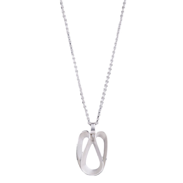 NEW! Angeline Necklace in Bright Silver by Thea Izzi