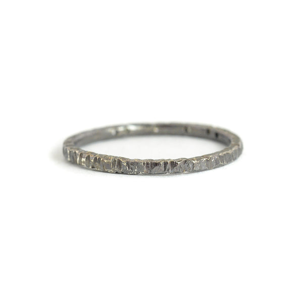 NEW! Oxidized Silver Aspen Stacker Ring by Kate Maller