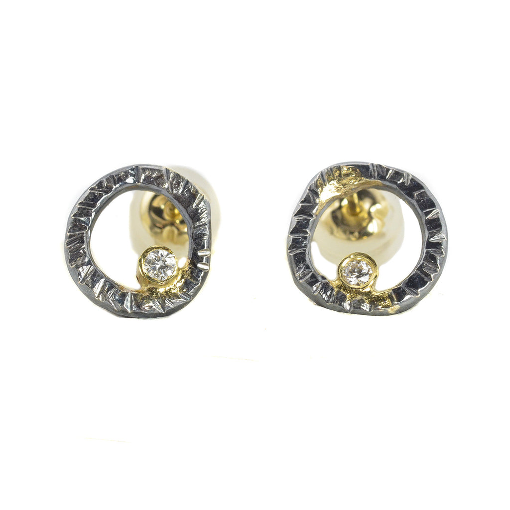 NEW! Turning Aspen Stud Earrings by Kate Maller