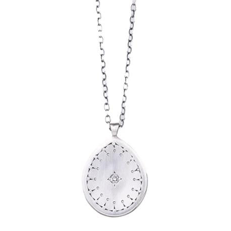 NEW! Aura Pendant with Diamond by Adel Chefridi