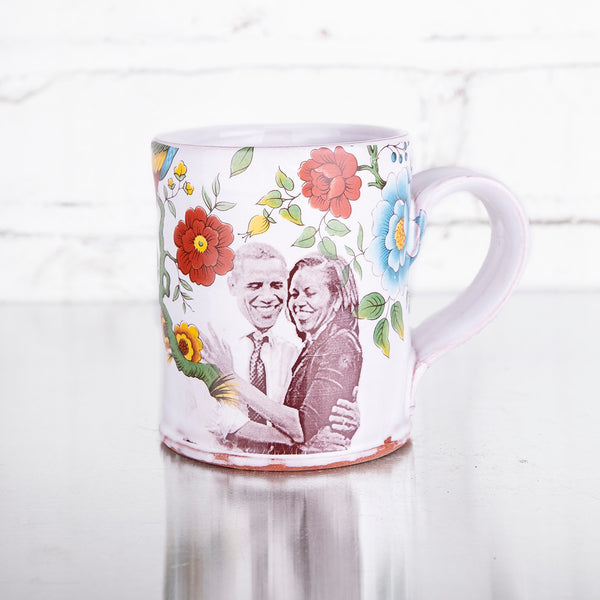NEW! Barack & Michelle Obama Mug by Justin Rothshank