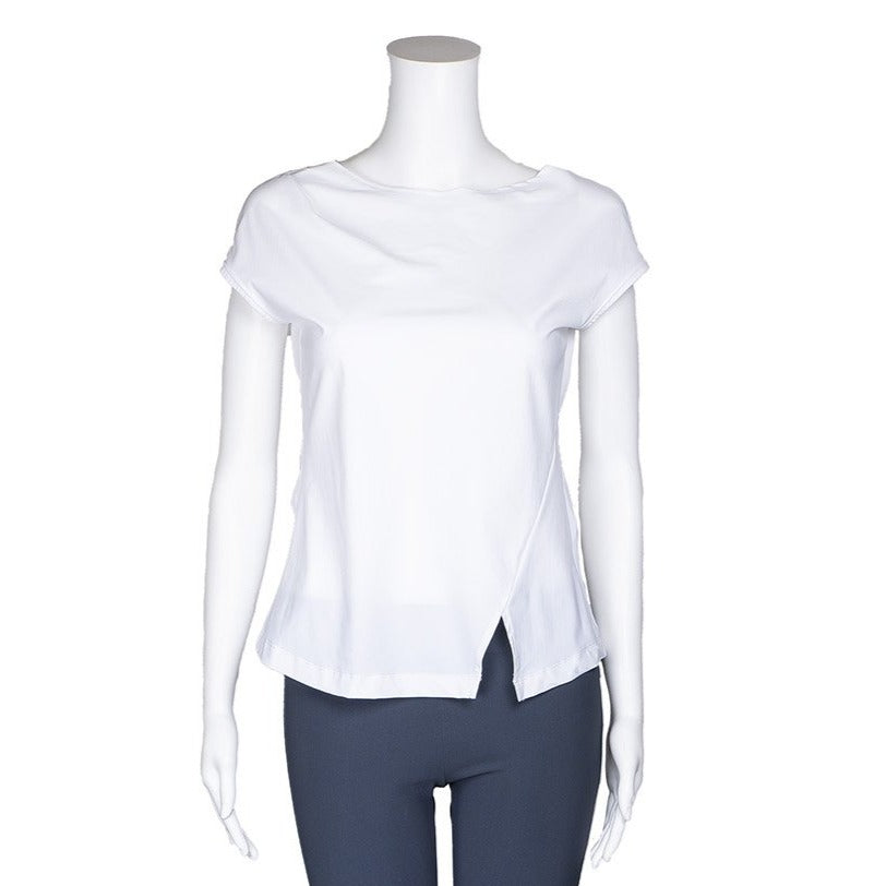 NEW! Bardot Top in White by Porto