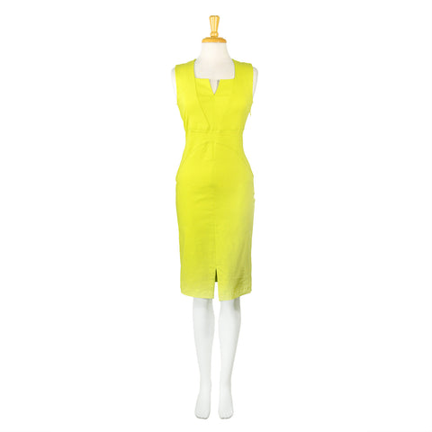 NEW! Bellini Dress in Lemon by Porto