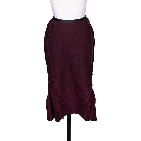 SALE! Bell Skirt in Burgundy by Vilma Marė